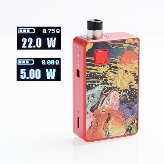 Picture of Artery PAL II 2 Pro 22W 1000mAh Pod System VW Mod Kit - Monster Squad, 5~22W, 0.6ohm / 1.0ohm, 3ml