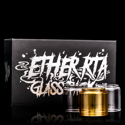 Picture of Ether RTA X Vaping Bogan GLASS PACK