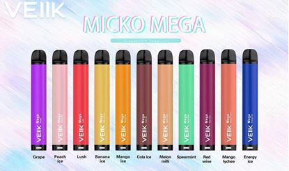 Picture of veiik micko mega disposable 800 puffs